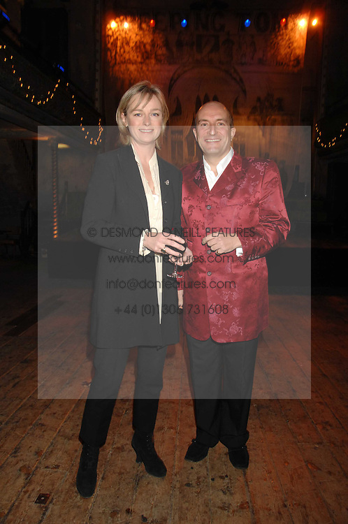 KIT & KATIE HESKETH-HARVEY at a reception to Discover Wilton's Music Hall held at the hall in Graces Alley, London E1 on 5th December 2007.<br /><br />NON EXCLUSIVE - WORLD RIGHTS