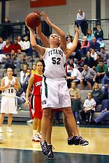 2008-09 Illinois Wesleyan Titans Women's Basketball Photos