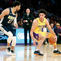 02 October 2017:  during the Denver Nuggets 113-107 victory over the LA Lakers, at the Staples Center, Los Angeles, California, USA.