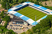 Nederland, Gelderland, Achterhoek, 29-05-2019; Doetinchem, Stadion De Vijverberg, thuis stadion van voetbalclub De Graafschap.<br /> Doetinchem, De Vijverberg stadium, home stadium of football club De Graafschap.<br /> luchtfoto (toeslag op standard tarieven);<br /> aerial photo (additional fee required);<br /> copyright foto/photo Siebe Swart