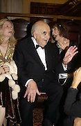 Lady Wiedenfeld, LORD WEIDENFELD, Carol Ryan.  AND LORD OWEN, The Man Booker prize 2005. the Guildhall.   October 10 2005. ONE TIME USE ONLY - DO NOT ARCHIVE © Copyright Photograph by Dafydd Jones 66 Stockwell Park Rd. London SW9 0DA Tel 020 7733 0108 www.dafjones.com