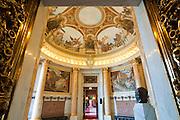 Rathaus innen, Turmsaal, Hamburg, Deutschland Verwendung nur mit Genehmigung des Hamburger Rathauses. .interior of guild hall, tower hall, Hamburg, Germany