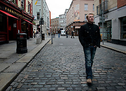 IRELAND DUBLIN 9MAY06 - Singer Ronan Keating (29) walks in Temple Bar in his native Dublin. The popstar emerged on the international scene in 1994 with the band Boyzone and has since gone solo and is about to release his new album 'Bring You Home' in June this year...jre/Photo by Jiri Rezac..© Jiri Rezac 2006..Contact: +44 (0) 7050 110 417.Mobile:  +44 (0) 7801 337 683.Office:  +44 (0) 20 8968 9635..Email:   jiri@jirirezac.com.Web:    www.jirirezac.com..© All images Jiri Rezac 2006 - All rights reserved.