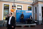 Festa della CDU di Steglitz-Zehlendorf, quartiere ovest di Berlino.