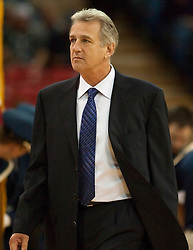 November 8, 2009; Sacramento, CA, USA;  Sacramento Kings head coach Paul Westphal during the first quarter against the Golden State Warriors at the ARCO Arena. The Kings defeated the Warriors 120-107.