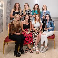 Clare District Soccer League Womens Team of the Year Back Row LtoR: Doireann Murphy, Manus Celtic, Chloe Devitt, Manus Celtic, Sarah Gillan, Burren Utd and Sally King, Burren Utd<br /> Front Row, LtoR: Candice Breannan, Hermitage FC, Rachel O'Halloran, Bridge Utd, Ali Quinlan, Bridge Utd, Aimee Burke, Burren Utd,
