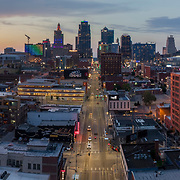 Skyline, Kansas City, Missouri, July 2018.