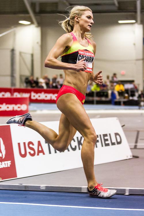New Balance Indoor Grand Prix Track & FIeld:   Women's 2000 meters, Emma Coburn, USA