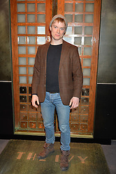 FREDDIE FOX at a private view of Made in Britain featuring contents from The Ivy sold to benefit Child Bereavement UK held at Sotheby's, 34-35 New Bond Street, London on 23rd March 2015.