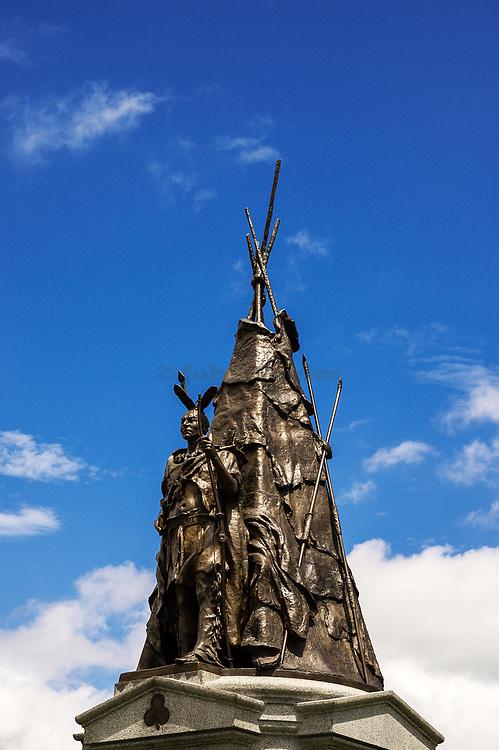 Tammany Regiment monument, Gettysburg National Military Park, Pennsylvania, USA