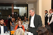 IZAK UZIYEL;  Dinner to celebrate the 10th Anniversary of Contemporary Istanbul Hosted at the Residence of Freda & Izak Uziyel, London. 23 June 2015