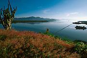 MEXICO, PACIFIC, COLIMA Cuyutlán Lagoon near Manzanillo