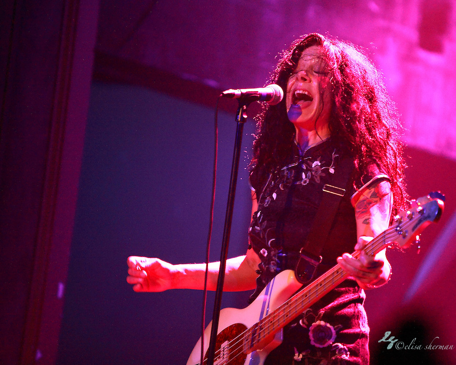 Concrete Blonde performs on January 25th, 2012 at the Neptune Theatre in Seattle, Washington