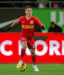 Magnus Kofod Andersen (FC Nordsjælland) under kampen i 3F Superligaen mellem FC Nordsjælland og FC København den 8. december 2019 i Right to Dream Park, Farum (Foto: Claus Birch).