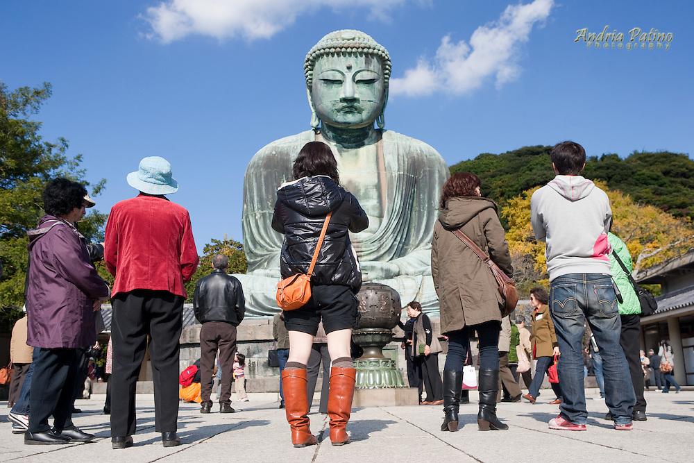 Daibutsu (Great Buddha) of Kamakura, Japan