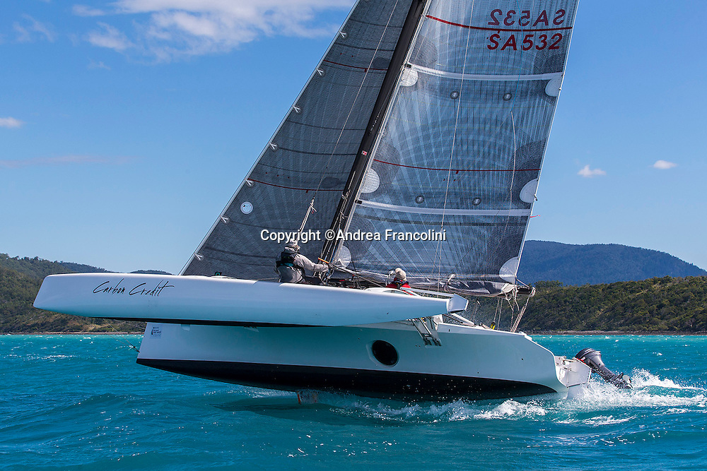SAILING - Airlie Beach Race Week 2016<br /> 14/8/2016<br /> Airlie Beach, Queensland<br /> ph. Andrea Francolini<br /> CARBON CREDIT