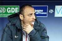 Dimitar BERBATOV  - 10.04.2015 - Caen / Monaco - 32e journee Ligue 1<br /> Photo : Vincent Michel / Icon Sport