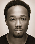 Black & White Actors Headshot