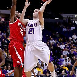 11-30-2010 Houston Cougars at LSU Tigers (mens basketball)