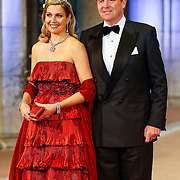 NLD/Amsterdam/20130429- Afscheidsdiner Konining Beatrix Rijksmuseum, Prince Willem-Alexander and Princess Maxima
