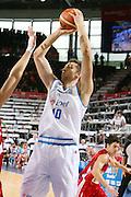 DESCRIZIONE : Madrid Spagna Spain Eurobasket Men 2007 Qualifying Round Italia Turchia Italy Turkey GIOCATORE : Andrea Bargnani <br /> SQUADRA : Nazionale Italia Uomini Italy <br /> EVENTO : Eurobasket Men 2007 Campionati Europei Uomini 2007 <br /> GARA : Italia Turchia Italy Turkey <br /> DATA : 10/09/2007 <br /> CATEGORIA : Tiro <br /> SPORT : Pallacanestro <br /> AUTORE : Ciamillo&amp;Castoria/T.Wiedensohler <br /> Galleria : Eurobasket Men 2007 <br /> Fotonotizia : Madrid Spagna Spain Eurobasket Men 2007 Qualifying Round Italia Turchia Italy Turkey Predefinita :