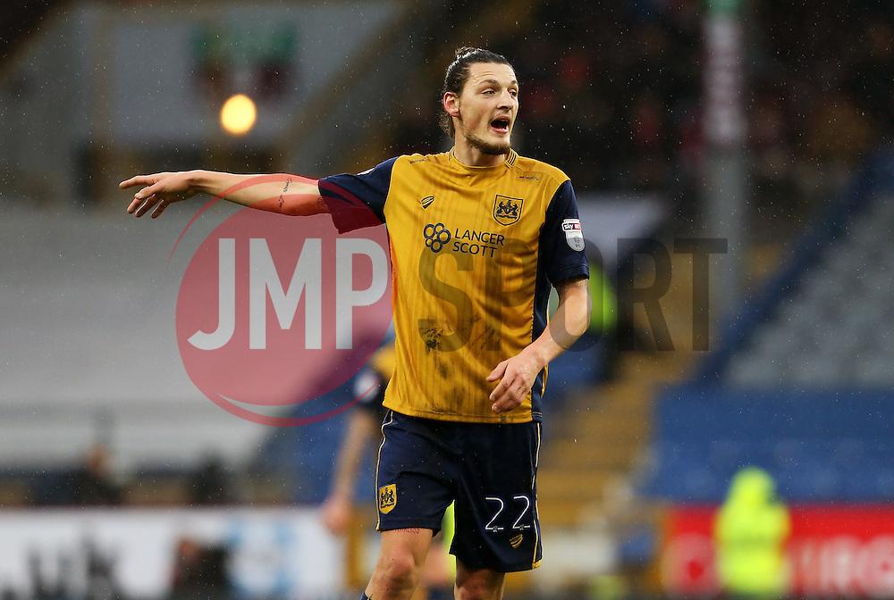 Milan Djuric of Bristol City points - Mandatory by-line: Matt McNulty/JMP - 28/01/2017 - FOOTBALL - Turf Moor - Burnley, England - Burnley v Bristol City - Emirates FA Cup fourth round