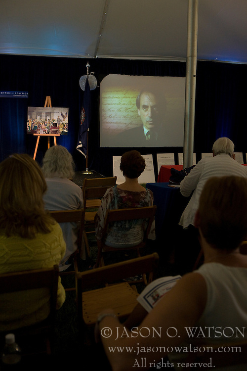 The University of Virginia's Center for Politics, founded in 1998 by Professor Larry Sabato, hosted the 11th annual Virginia Political History Project open house at Montesano on the Grounds of the University of Virginia in Charlottesville, VA on June 6 and 7, 2008.