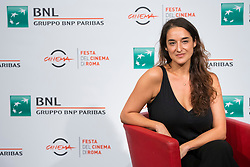 ITALY OUT - Barbara Sarasola-Day attends the ' Sangre Blanca ' photocall during the 13th Rome Film Fest at Auditorium Parco Della Musica on October 19, 2018 in Rome, Italy. Photo by Alessia Paradisi/ABACAPRESS.COM