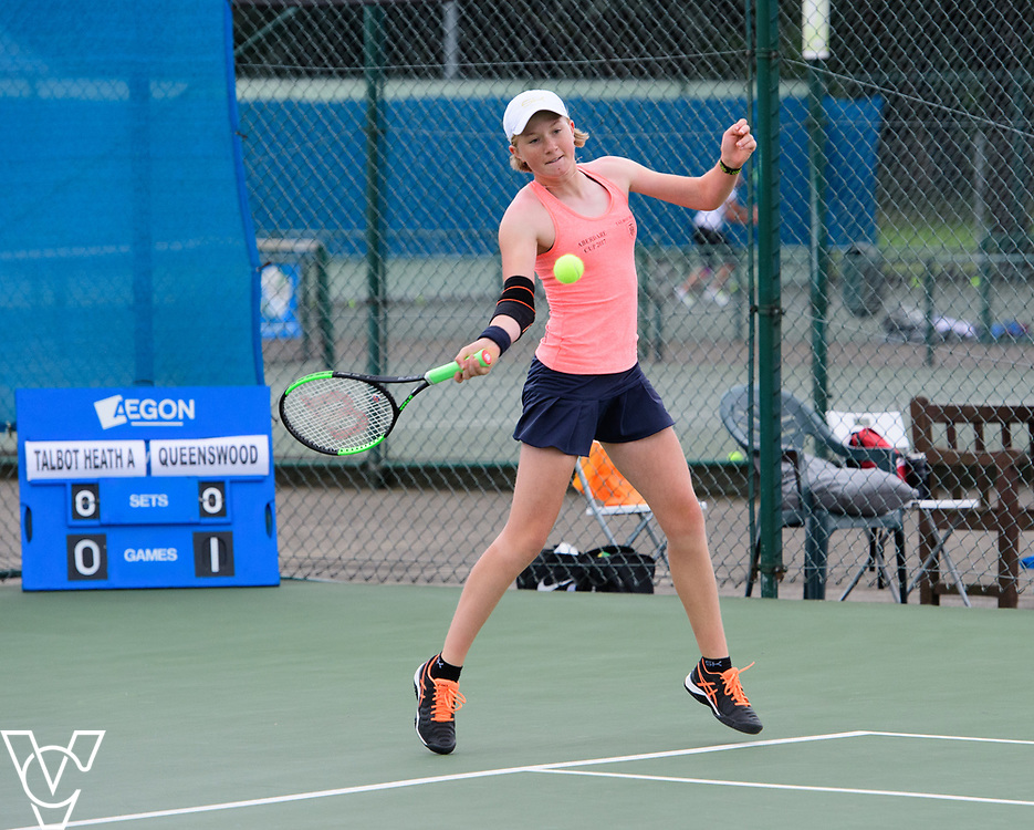 Aberdare Cup - Talbot Heath School A [2] - Hannah Smith<br /> <br /> Team Tennis Schools National Championships Finals 2017 held at Nottingham Tennis Centre.  <br /> <br /> Picture: Chris Vaughan Photography for the LTA<br /> Date: July 14, 2017