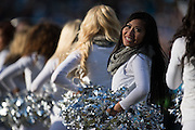 January 17, 2016: Carolina Panthers vs Seattle Seahawks. Panthers' cheerleader