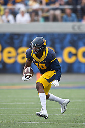 BERKELEY, CA - SEPTEMBER 12:  Wide receiver Darius Powe #10 of the California Golden Bears rushes up field against the San Diego State Aztecs during the third quarter at California Memorial Stadium on September 12, 2015 in Berkeley, California. The California Golden Bears defeated the San Diego State Aztecs 35-7. (Photo by Jason O. Watson/Getty Images) *** Local Caption *** Darius Powe
