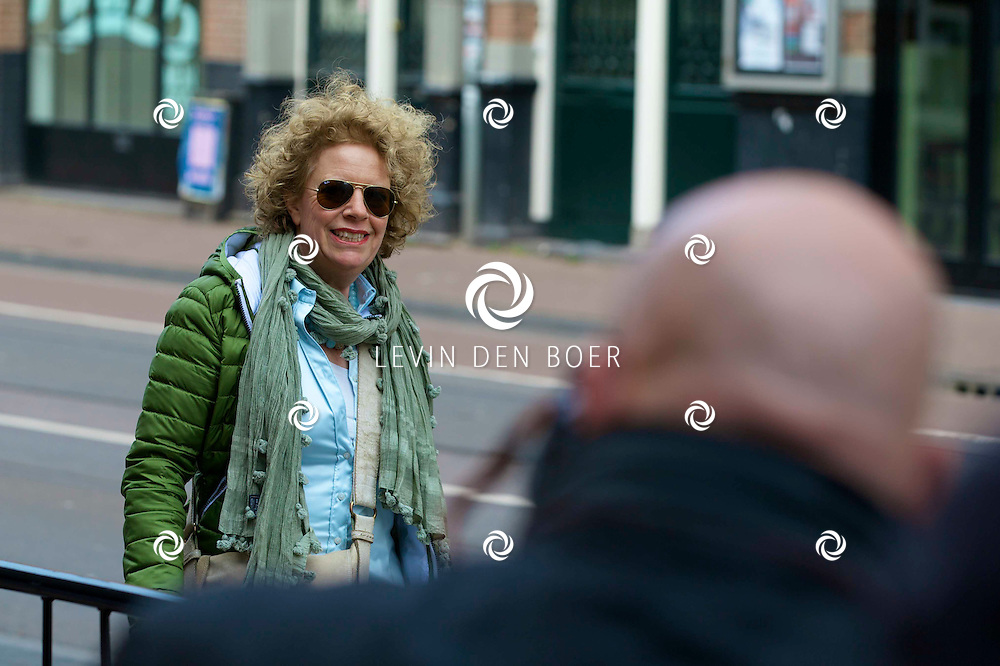 AMSTERDAM - Het toneelstuk Vaslav is in premiere gegaan in theater DeLaMar.  Brigitte Kaandorp. FOTO LEVIN DEN BOER - PERSFOTO.NU
