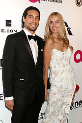 February 24, 2019 - West Hollywood, CA, USA - LOS ANGELES - FEB 24:  Benjamin Larretche, Petra Nemcova at the Elton John Oscar Viewing Party on the West Hollywood Park on February 24, 2019 in West Hollywood, CA (Credit Image: © Kay Blake/ZUMA Wire)