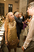 FRANCA SOZZANI, Luomo Vogue 40th Anniversary dinner. Palazzo Litta. Milan. 22 June 2008 *** Local Caption *** -DO NOT ARCHIVE-© Copyright Photograph by Dafydd Jones. 248 Clapham Rd. London SW9 0PZ. Tel 0207 820 0771. www.dafjones.com.