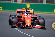 ALBERT PARK, VIC - MARCH 15: Scuderia Ferrari Mission Winnow driver Sebastian Vettel (5) at The Australian Formula One Grand Prix on March 15, 2019, at The Melbourne Grand Prix Circuit in Albert Park, Australia. (Photo by Speed Media/Icon Sportswire)