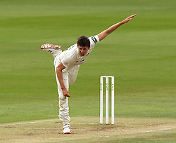 Durham's Paul Coughlin bowls - Photo mandatory by-line: Robbie Stephenson/JMP - Mobile: 07966 386802 - 03/05/2015 - SPORT - Football - London - Lords  - Middlesex CCC v Durham CCC - County Championship Division One