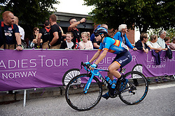 Lourdes Oyarbide (ESP) at Ladies Tour of Norway 2019 - Stage 2, a 131 km road race from Mysen to Askim, Norway on August 23, 2019. Photo by Sean Robinson/velofocus.com
