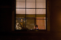 Nederland. Den Haag, 8 november 2007.<br /> Jan Peter Balkenende, minister-president, tijdens overleg op het ministerie van Algemene zaken. Vanavond is er het wekelijkse bewindsliedenoverleg. Vanmiddag hebben de coalitiepartijen vanhet vierde kabinet Balkenende onderhandelt over het ontslagrecht<br /> Foto Martijn Beekman <br /> NIET VOOR TROUW, AD, TELEGRAAF, NRC EN HET PAROOL