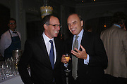 Lloyd Grossman and  Nicholas Coleridge. The Tatler Restaurant Awards in association with  Louis Roederer champagne.  The Four Seasons Hotel, Hamilton Place, London. 10 January 2004. ONE TIME USE ONLY - DO NOT ARCHIVE  © Copyright Photograph by Dafydd Jones 66 Stockwell Park Rd. London SW9 0DA Tel 020 7733 0108 www.dafjones.com