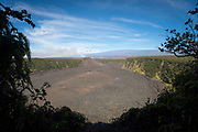 Kilauea Iki Crater,  Hawaii Volcanoes National Park, Island of Hawaii, Hawaii