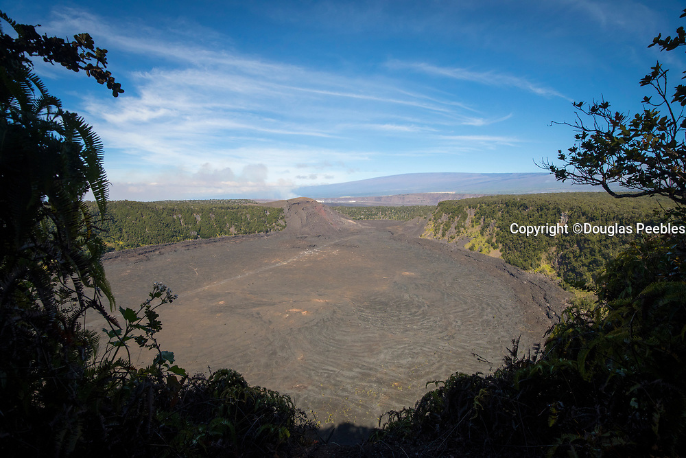 Kilauea Iki Crater,  Hawaii Volcanoes National Park, Island of Hawaii, Hawaii