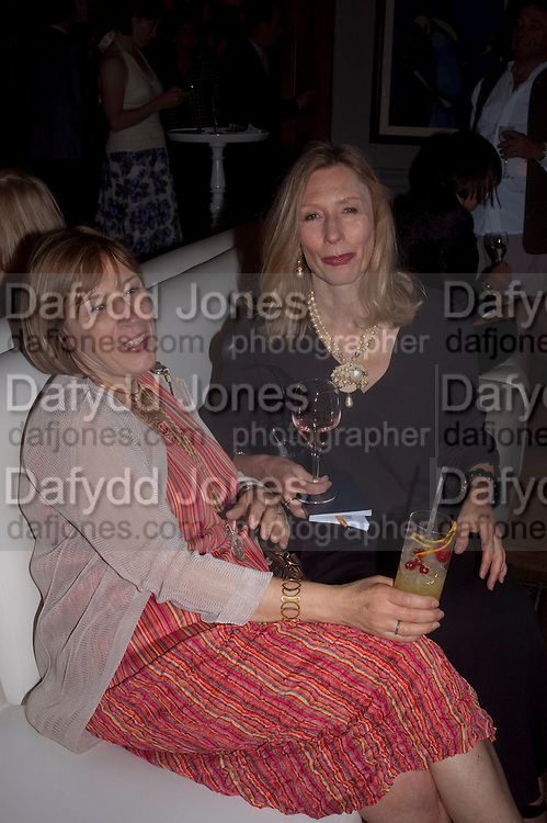 EILEEN COOPER; CLARE COOPER, Royal Academy of Arts Summer Exhibition Preview Party 2011. Royal Academy. Piccadilly. London. 2 June <br /> <br />  , -DO NOT ARCHIVE-© Copyright Photograph by Dafydd Jones. 248 Clapham Rd. London SW9 0PZ. Tel 0207 820 0771. www.dafjones.com.