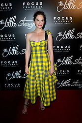 August 16, 2018 - New York, NY, USA - August 16, 2018  New York City..Ruth Wilson at the 'The Little Stranger' film premiere on August 16, 2018 in New York City. (Credit Image: © Kristin Callahan/Ace Pictures via ZUMA Press)