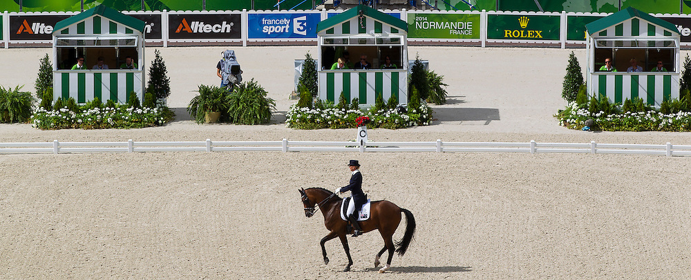 Mary Hanna, (AUS), Sancette - Grand Prix Team Competition Dressage - Alltech FEI World Equestrian Games&trade; 2014 - Normandy, France.<br /> &copy; Hippo Foto Team - Leanjo de Koster<br /> 25/06/14