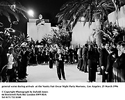 general scene during arrivals  at the Vanity Fair Oscar Night Party Mortons,  Los Angeles. 25 March 1996<br />