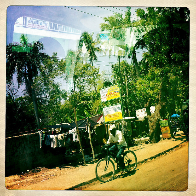 A street scene on Monday, April 2, 2012 in Port-au-Prince, Haiti.