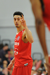 Bristol Flyers' Roy Owen - Photo mandatory by-line: Dougie Allward/JMP - Mobile: 07966 386802 - 13/03/2015 - SPORT - Basketball - Bristol - SGS Wise Campus - Bristol Flyers v Leicester Riders - British Basketball League
