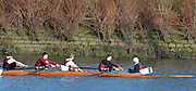 """London. ENGLAND. Saturday 26/01/2013 2013 Quintin Head, River Thames. ..Description -University Of Bristol, approaches Chiswick Bridge, with the cox holding the No. 7's spoon [Broken Blade].   During the 2013 Quintin Head..[Mandatory Credit: Peter Spurrier/Intersport Images]..[Head Race: Processional"""" Time Trial].."""