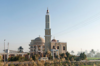 A mosque seen along the road to Sakkara, Egypt.