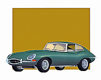 In terms of cars that evoke thoughts of speed, precision, and power, there are few examples more extraordinary than any example of a Jaguar. This one in particular is considered to be one of the finest vehicles ever made by the manufacturer. This digital painting is perfect for anyone who truly loves Jaguar automobiles. .<br />